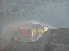 Landsbyen Tetang tidlig morgen/Dag Norling