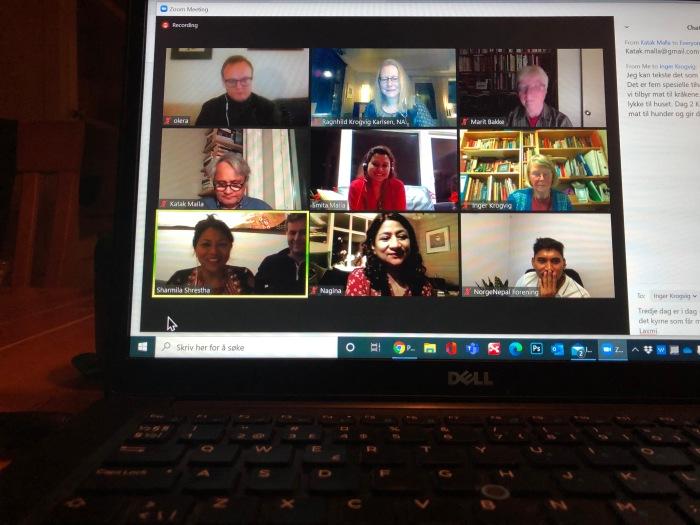 Tihar 2020 digitalt medlemstreff